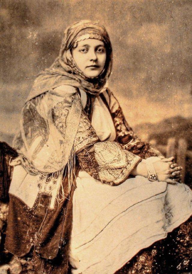Гречанка, около 1870-х годов