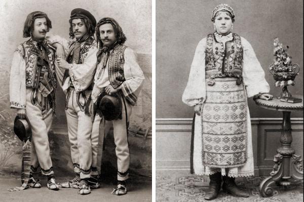 Удивительные фотографии, демонстрирующие традиционные костюмы со всего мира в XIX веке