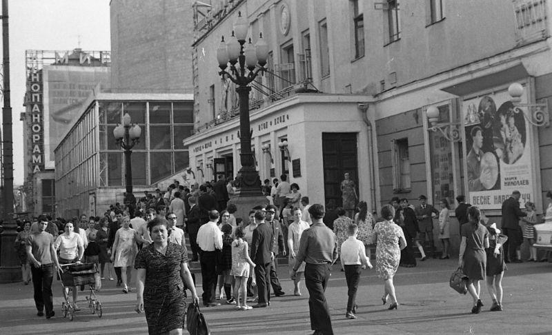 Московский цирк Никулина на Цветном бульваре, 1971 год