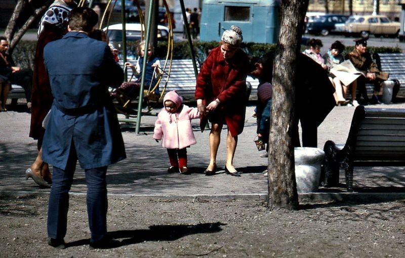 Москва, 1971 год