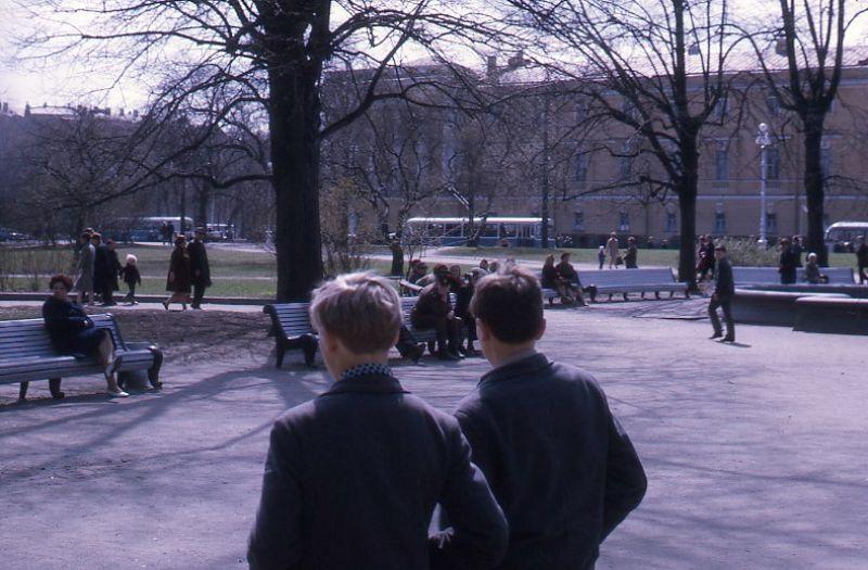 Москва, Ленинградский парк, 1971 год