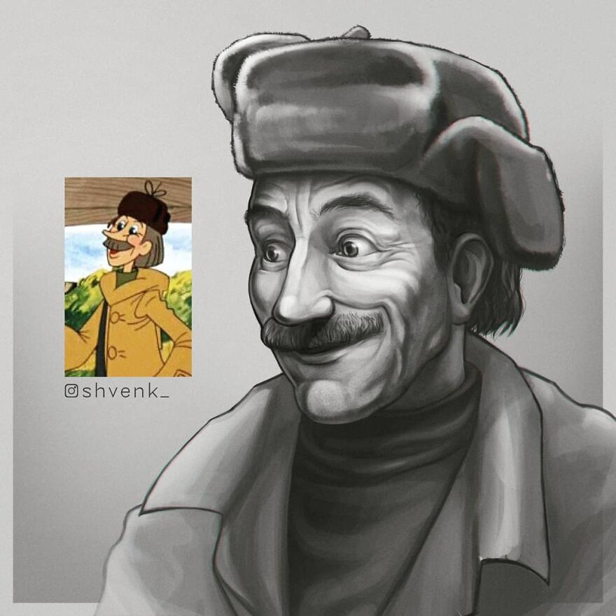 Герои советских мультфильмов