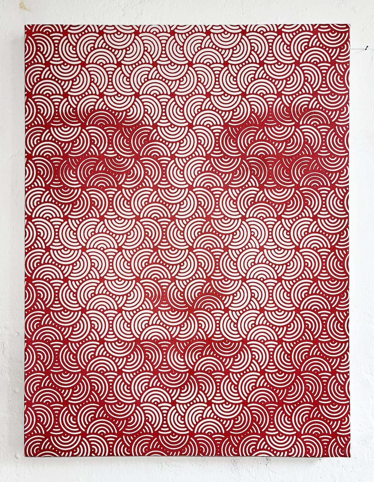 Гипнотические абстрактные картины с лицами
