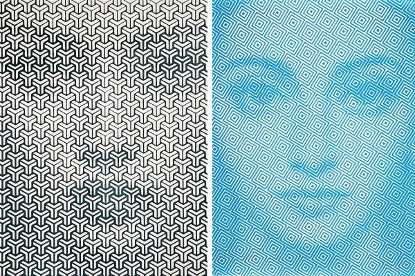 Гипнотические абстрактные картины, на которых можно разглядеть реалистичные лица