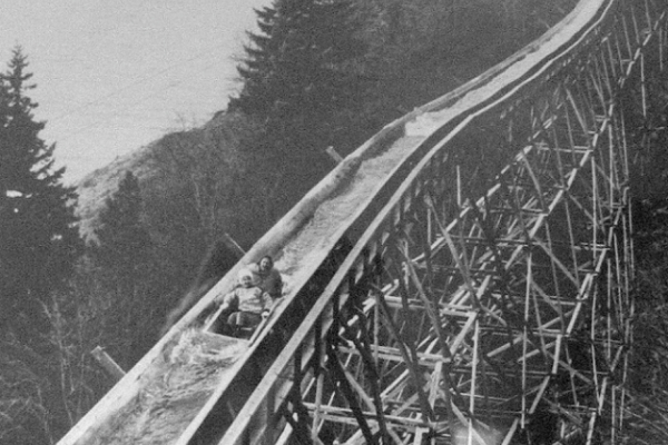 Езда на желобе: ужасающий вид спорта начала ХХ века