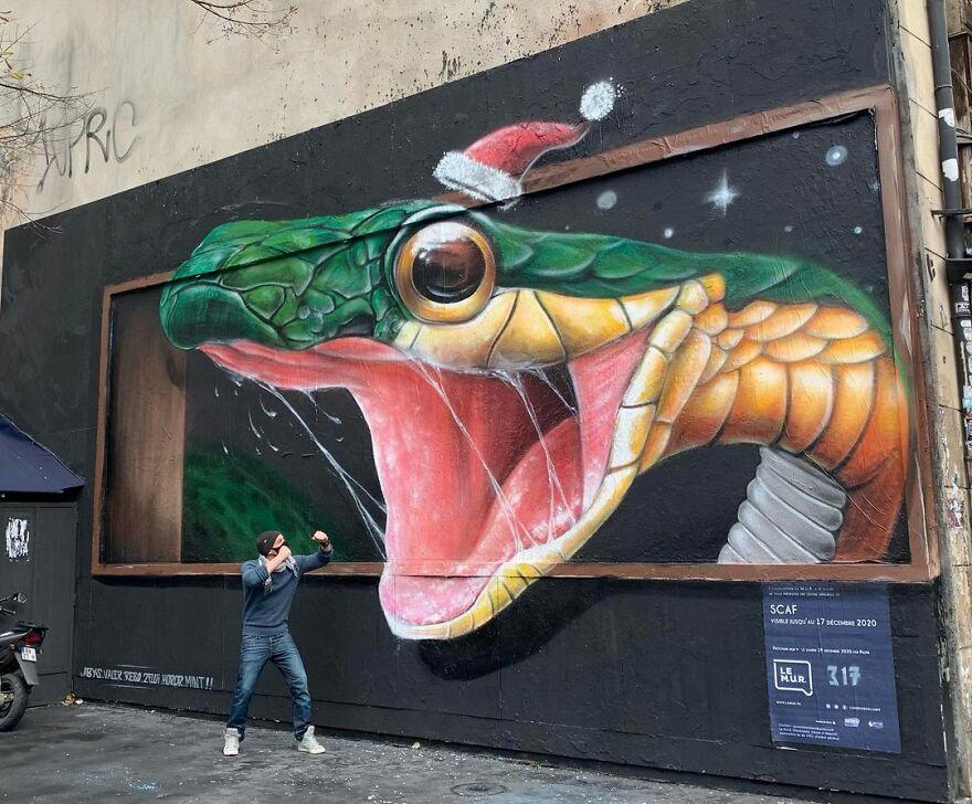 Реалистичные трёхмерные граффити