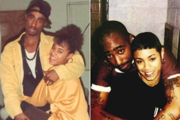 Личные фотографии Тупака Шакура и Джады Пинкетт в 80-х и 90-х годах